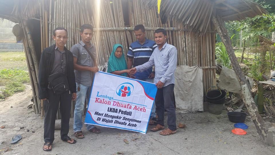 LPDA kunjungi warga duafa di Aceh Utara