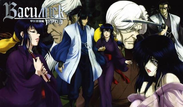 Basilisk - Daftar Anime Samurai Terbaik Sepanjang Masa
