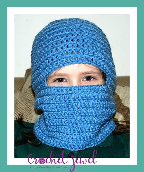 Amys Crochet Creative Creations Crochet Ski Mask All Sizes