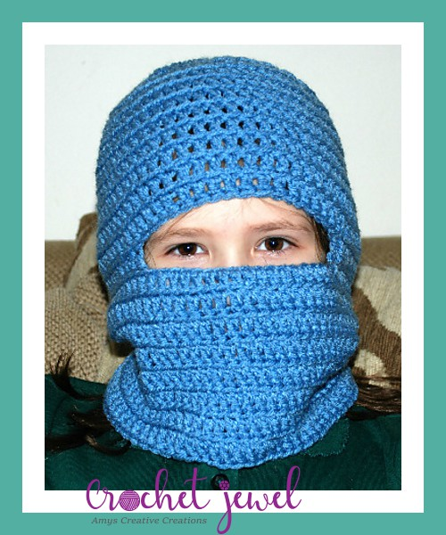 Amys Crochet Creative Creations Crochet Ski Mask All Sizes