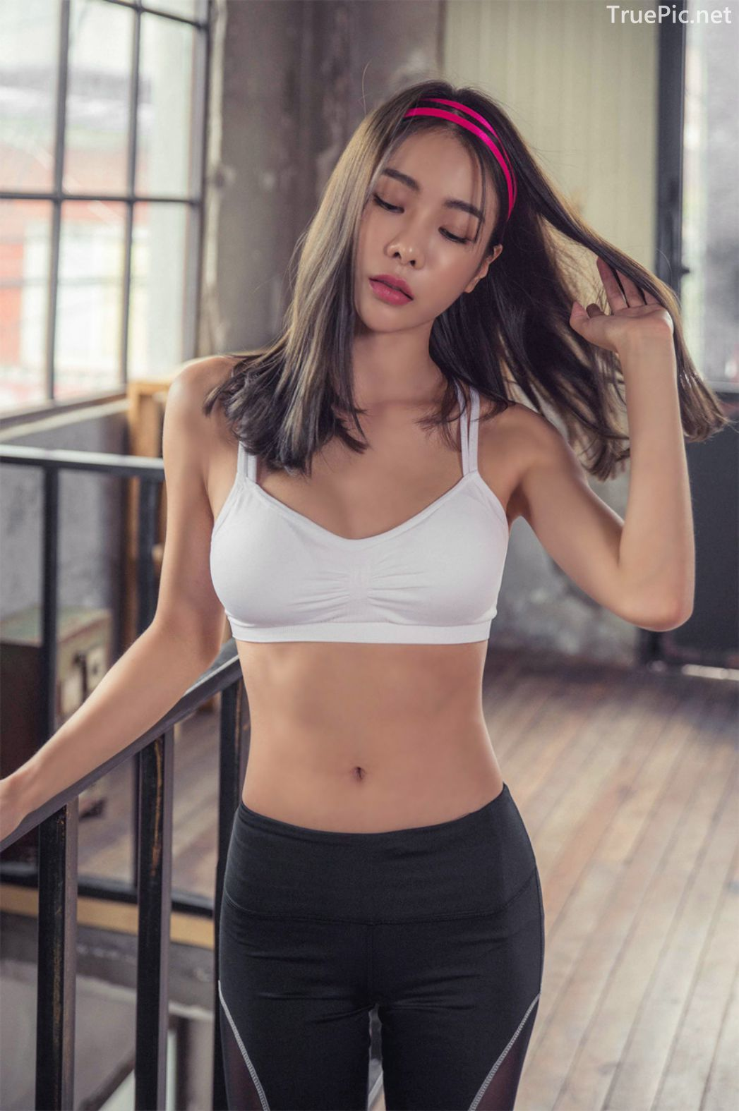Korean Fashion Model - An Seo Rin - Active Fitnees Set Collection - TruePic.net - Picture 3