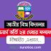 NU honours 2nd merit admission result 2019