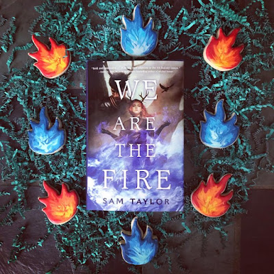 Spotlight on New Book Debut Author Sam Taylor WE ARE THE FIRE #NewBook #DebutAuthor #2021Books - #YA #YAfantasy #fantasy Teen Young Adult War Military Fiction