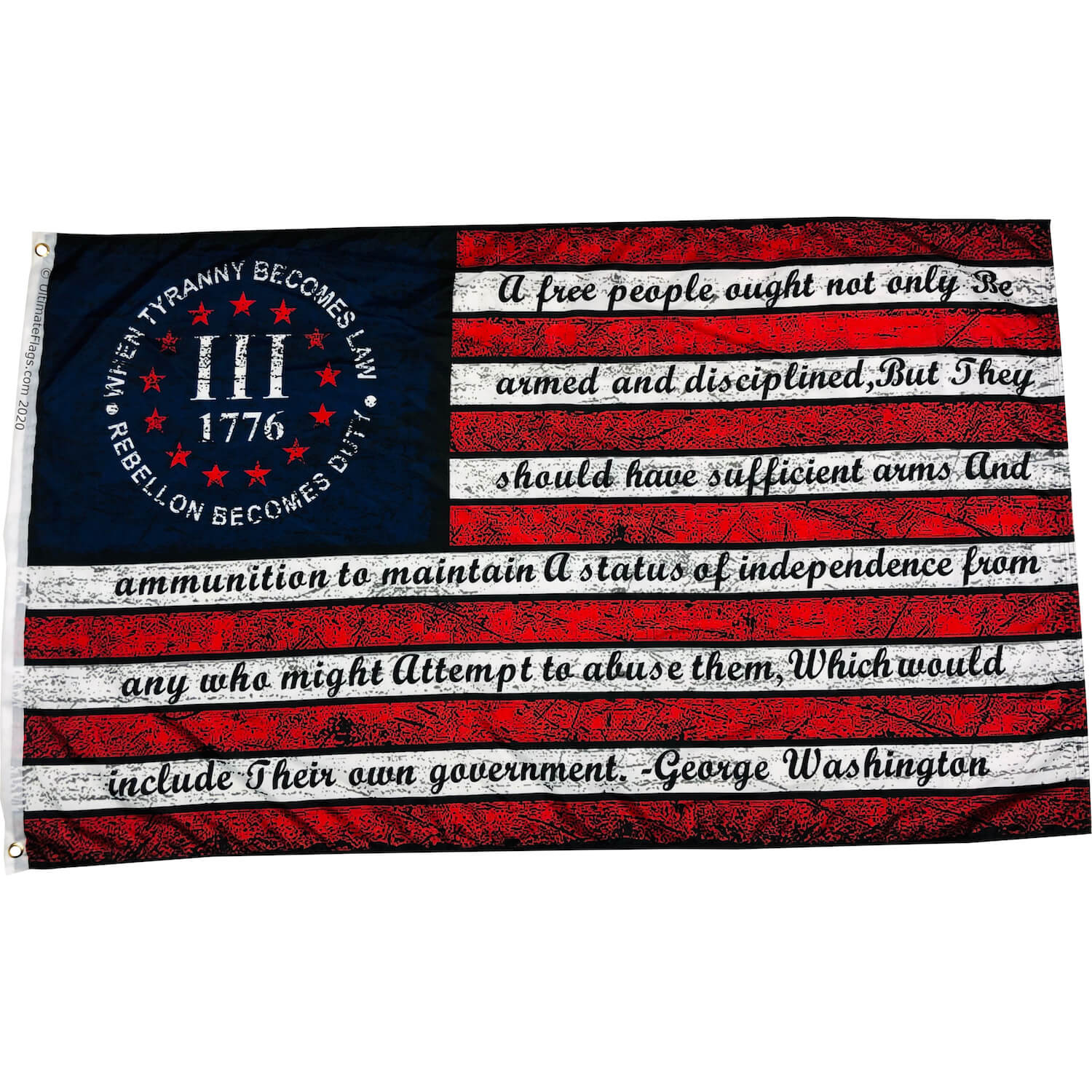 when tyranny becomes law flag