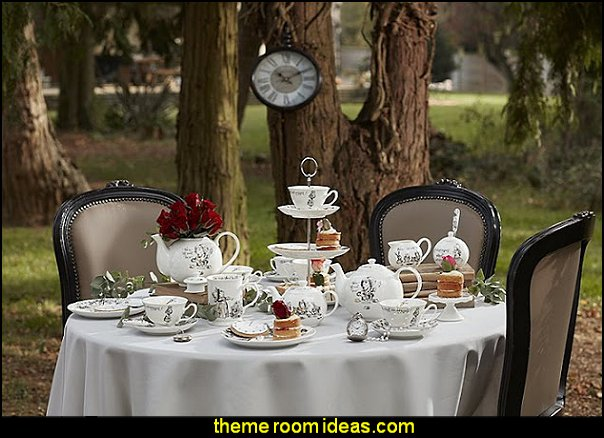 Alice in Wonderland Tea party decorations alice in wonderland party decorating ideas