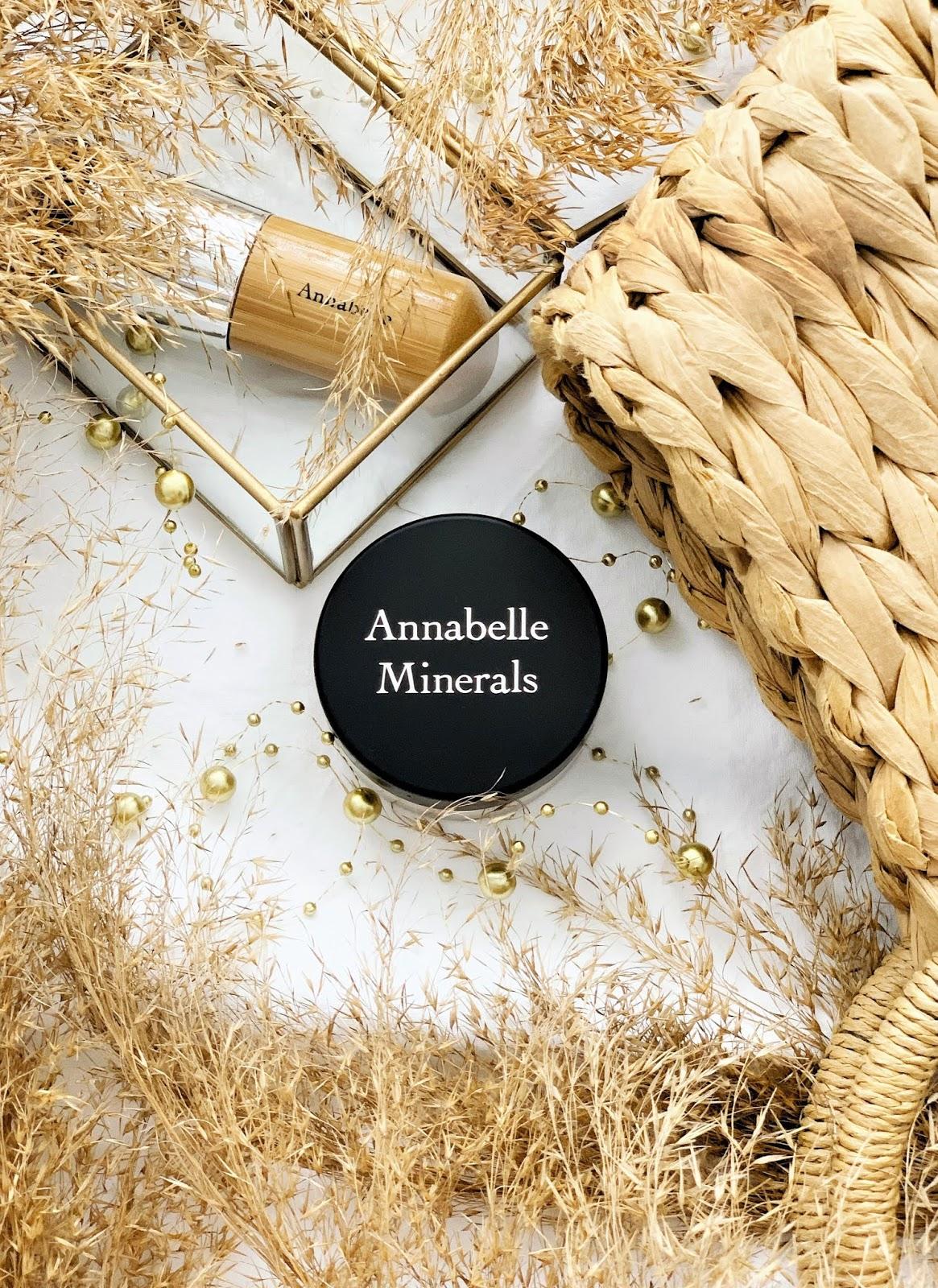 Podkład rozświetlający Annabelle Minerals - recenzja