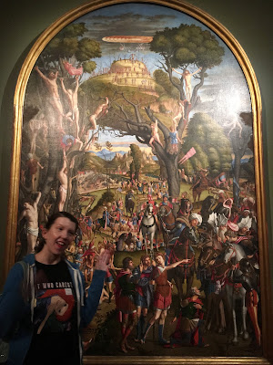Crucifixion and Apotheosis of the Ten Thousand Martyrs of Mt. Ararat by Carpaccio