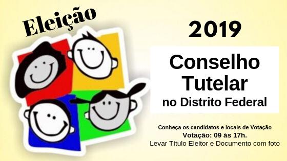 Eleição para Conselho Tutelar no Distrito Federal - 06/10/2019