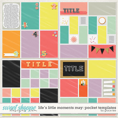 Life's Little Moments May: Pocket Templates