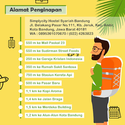 Hotel Stategis di Bandung  Nyaman & Bersih