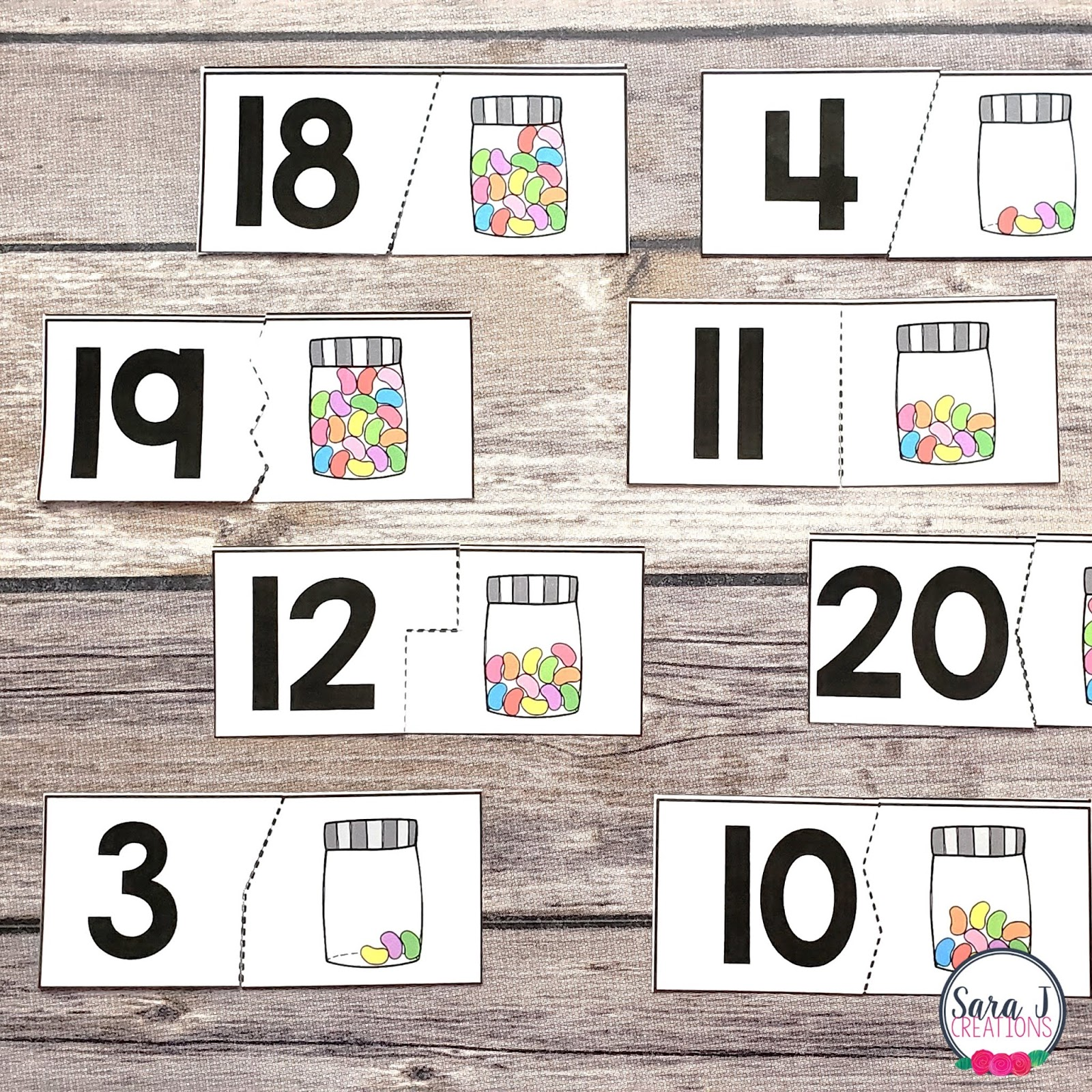 This is a photo of Free Printable Numbers 1-20 with regard to mixed up
