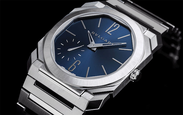 Bulgari Octo Finissimo Automatic Steel with Blue dial ref. 103431