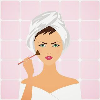 TAG Moja makijażowa historia-post urodzinowy oraz rozdanie