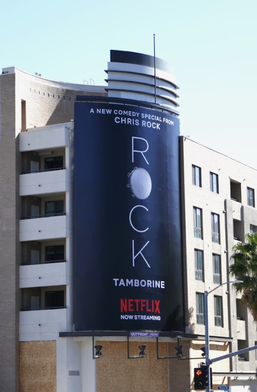 Rock Tamborine Netflix billboard