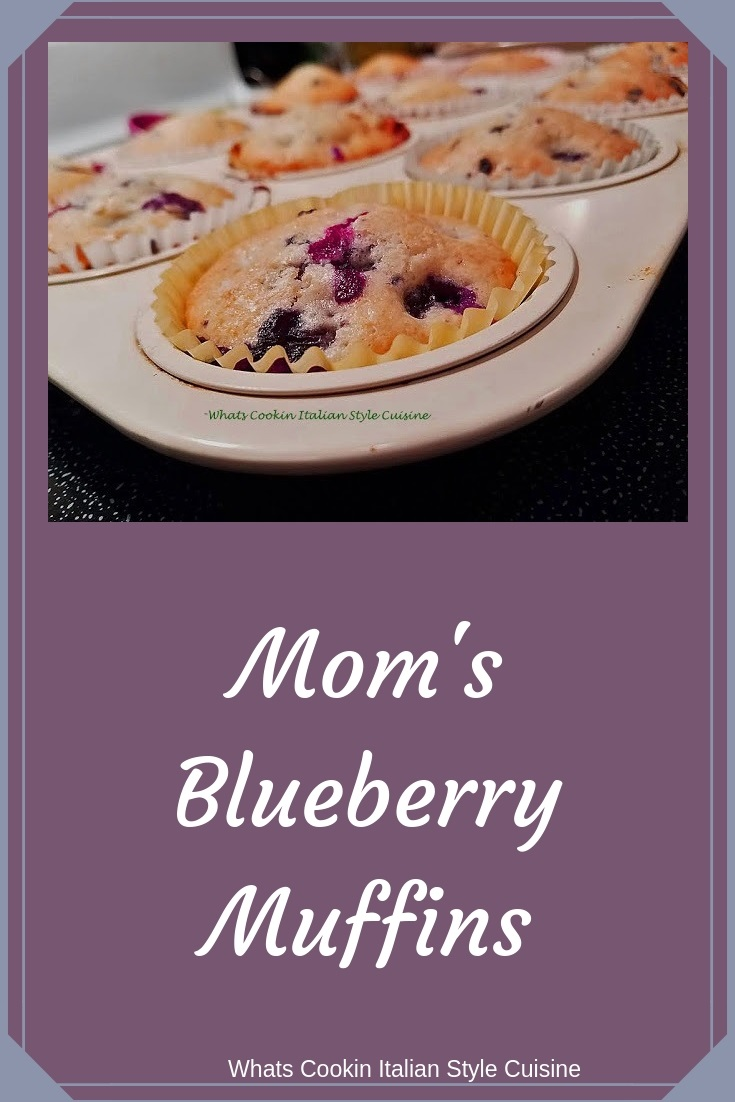these are homemade scratch blueberries muffins on a white plate baked. The muffins recipe is a quick bread that use basic ingredients and easy to make recipe