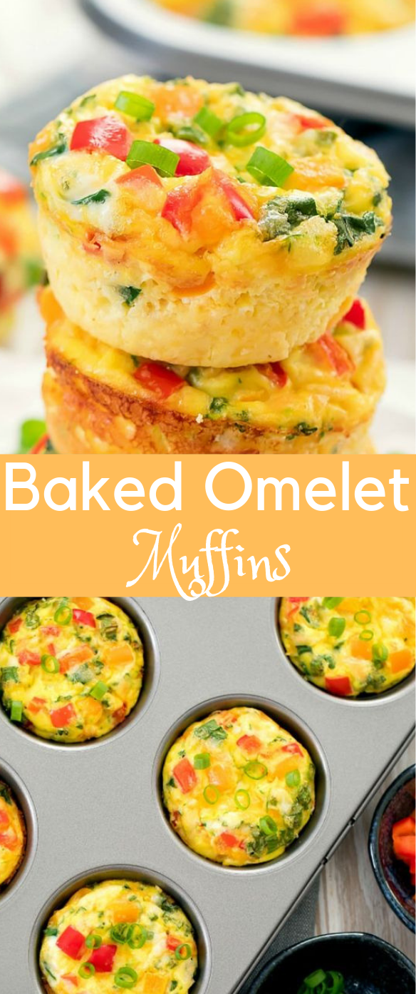 OMELET MUFFINS #omelet #healthy
