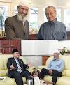 Pendirian Tun M dan Dr Mujahid Jelas Zakir Naik Tidak Dihantar Pulang