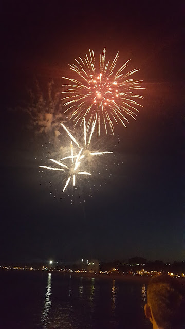Fireworks, Santa Barbara, California, 4th july, feux artifice, elisaorigami, elisa n, travel, blogger, voyages, lifestyle