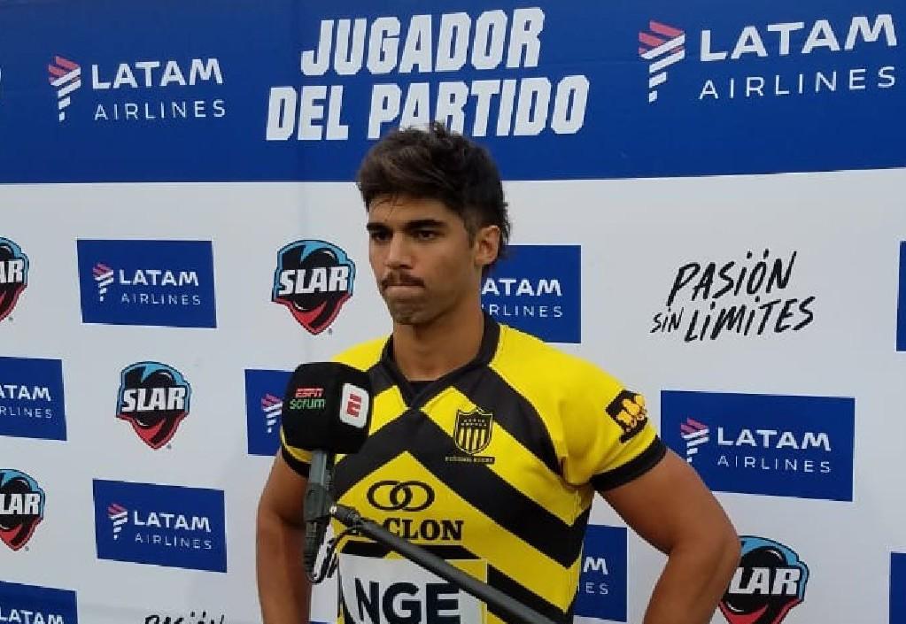 Martín Roger, apertura de Peñarol Rugby #SLAR