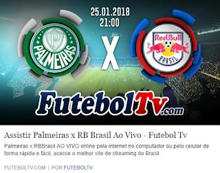 Assistir Palmeiras x RB Brasil ao vivo - Futebol TV