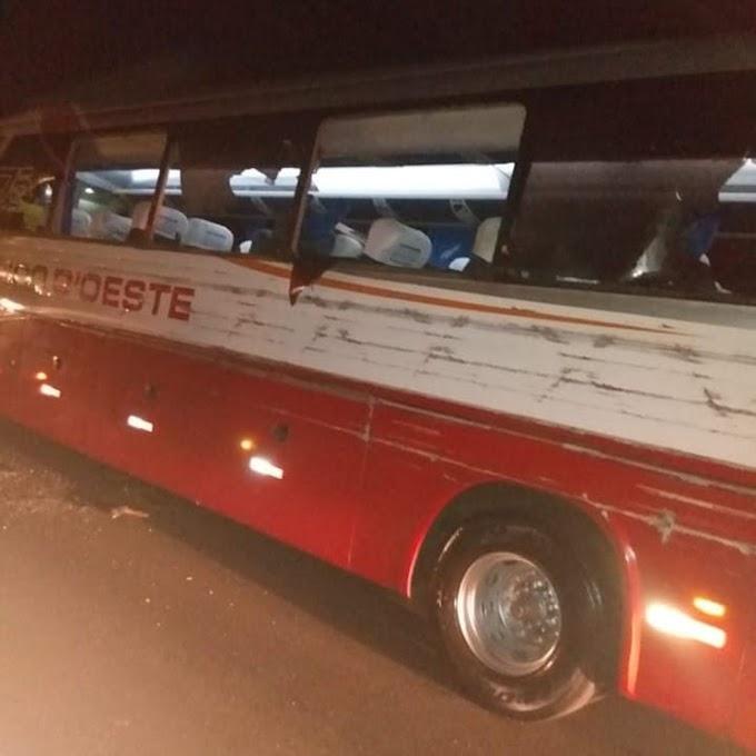 Colisão entre ônibus e caminhão em Monte Azul Paulista deixa uma pessoa morta