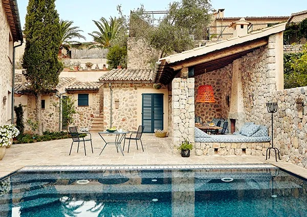 A rustic-chic house in the Balearic Islands by studio MoreDesign
