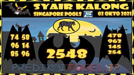 Kalong SGP Sabtu 02 Oktober 2021
