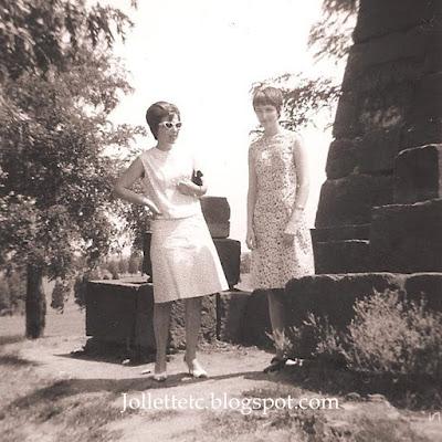 Mary Slade and Wendy Slade at Manassas https://jollettetc.blogspot.com