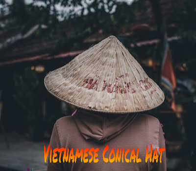 Vietnamese Non La (Conical Hat in Vietnam)