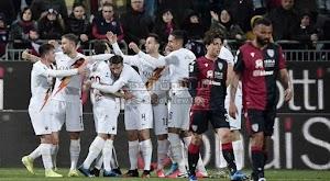 روما يحقق الفوز الصعب المثير على نادي كالياري في الدوري الايطالي