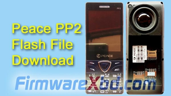 Peace PP2 Flash File Download Without Password