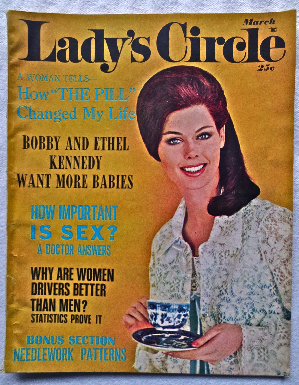 ART SKOOL DAMAGE : Christian Montone: 1960s: Magazine Mirror
