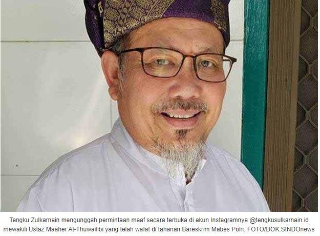Tengku Zulkarnain Mintakan Maaf Ustaz Maaher kepada Habib Lutfi