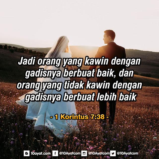 1 Korintus 7:38