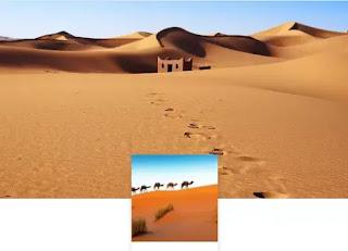 sfondo deserto