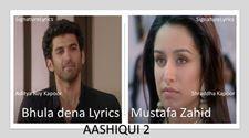 Bhula Dena Lyrics - Mustafa Zahid