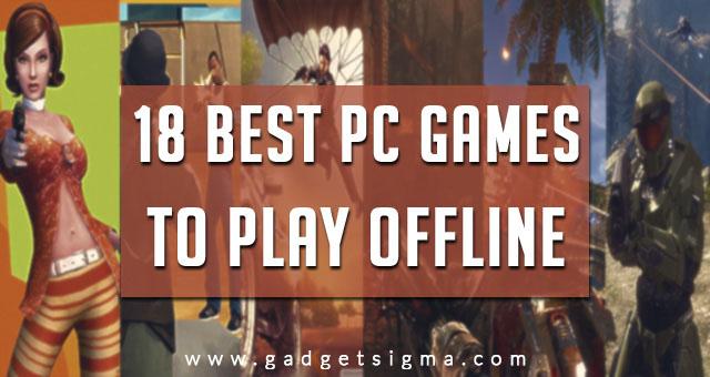 best pc games offline