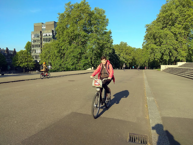 Londyn - rowery miejskie