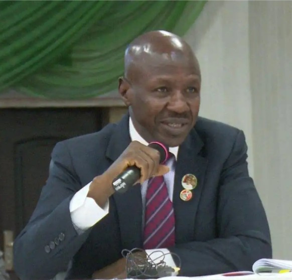 We'll chase after looters hiding in Ghana- EFCC boss, Ibrahim Magu says