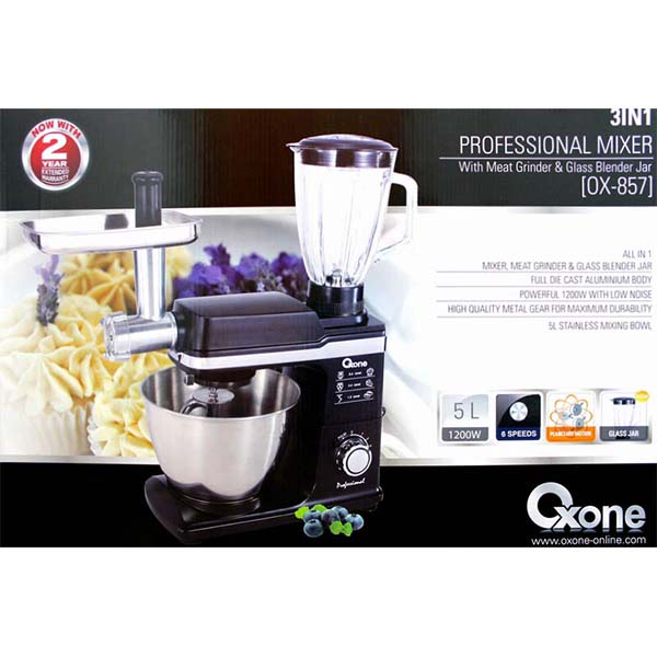 OX-857 3in1 Professonal Blender Oxone