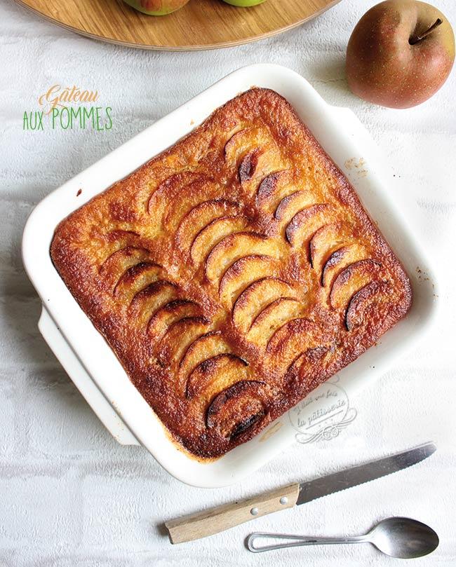 gateau aux pommes recette