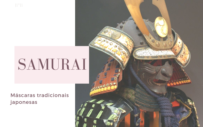 Máscaras na Cultura Japonesa: Samurai