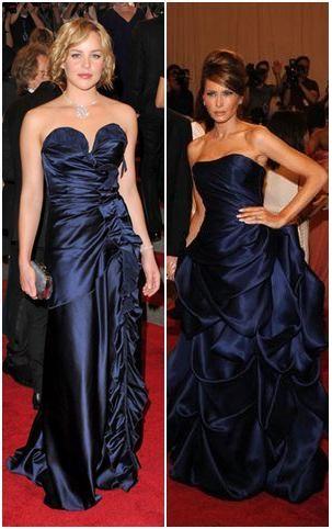 Mujeres famosas con bellos vestidos largos de gala