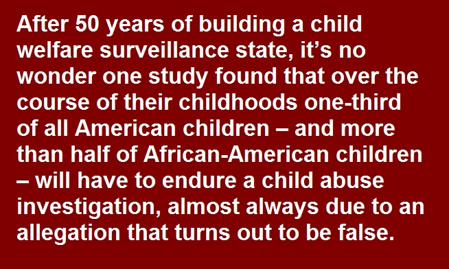 NCCPR Child Welfare Blog: The child welfare surveillance state: When