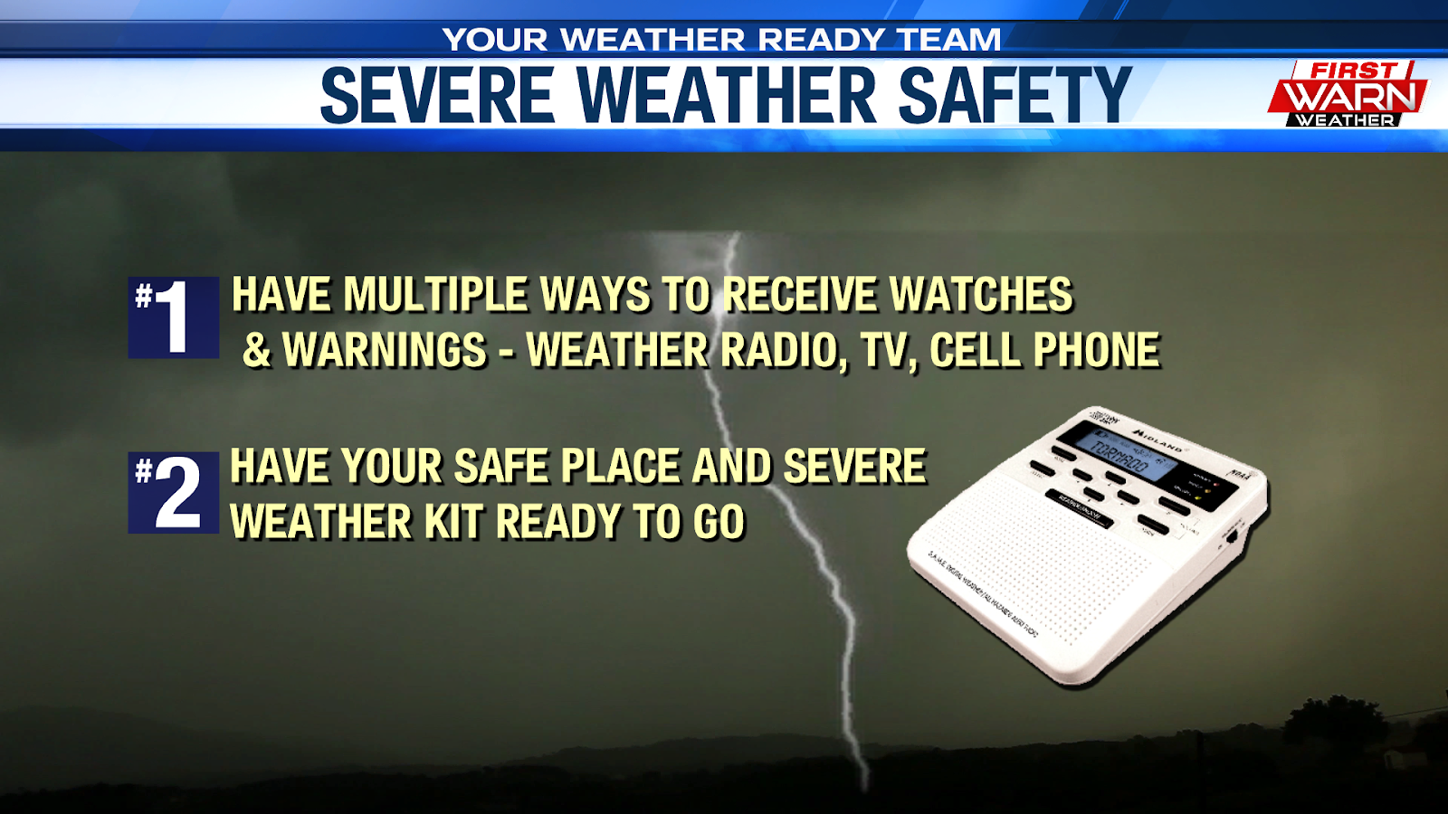 This Would Be A Great Time To Make Sure That Your Severe Weather Plan Is Set And Ready Go Also You Have Multiple Ways Receive Watches