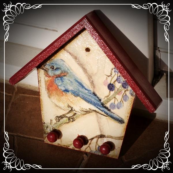 Ptaszek w karmniczku
