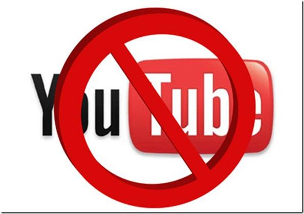 10 negara yang memblokir youtube