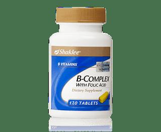 B complex, Ostematrix, Sembelit, Set kehamilan shaklee, Vitamin c