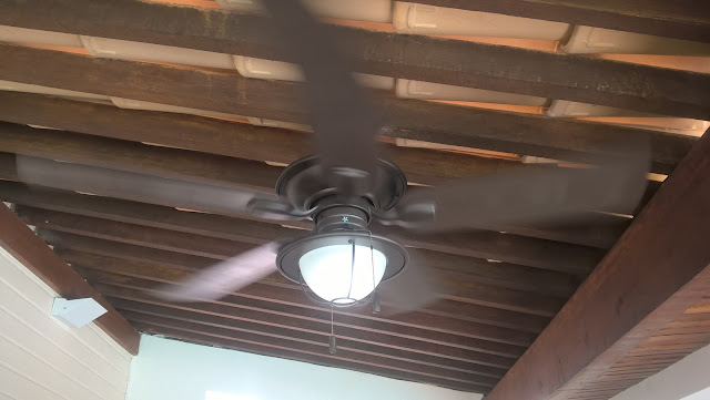 Instalação de Ventilador de Teto Hunter em Salvador-BA (71) 99111-2954