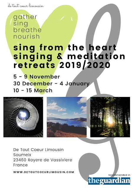 sing from the heart singing and mediation retreats de tout coeur limousin